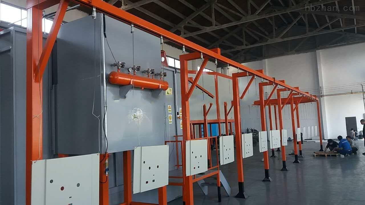 新疆静电喷涂设备如何合理使用喷枪的大小?