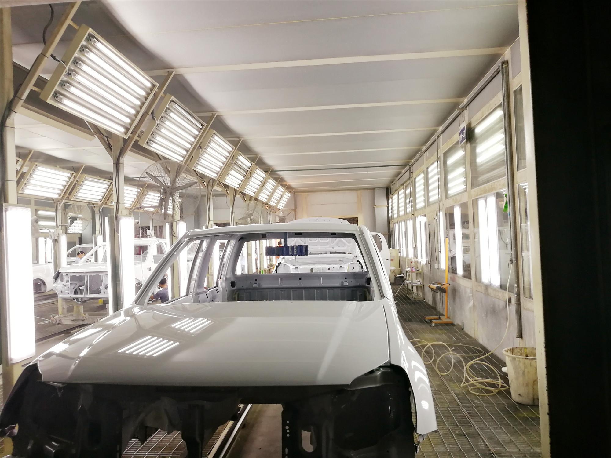 新疆汽车涂装生产线