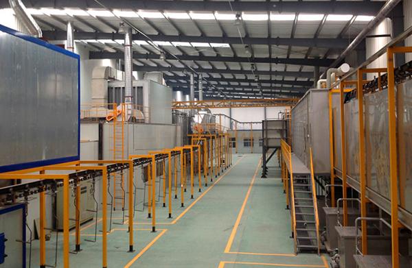 新疆塑胶涂装生产线